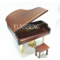 Red Wooden Piano Musical Box Elegant Music Box for Birthday Gift (LP-44)