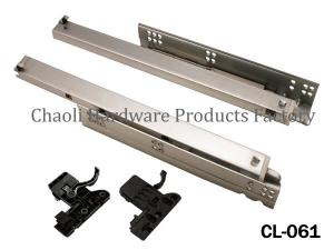 China Undermount soft close slide CL-061 on sale