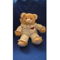 China 50 cm Cuddly Stuff Animals Miniature Custom Plush Toy Sleepy Dressed Bears on sale