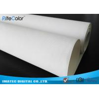 """44 """" Wide Format Waterproof Inkjet Cotton Canvas Glossy Printing for Poster"""