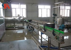 China Reliable Juice Production Line Bottle Diameter 28 - 120mm With Spring Type Washing Clipper on sale