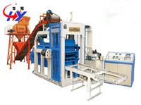 China HY-QM4-12 fly ash brick making machine in india price on sale