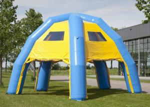 China Commericial Activities Inflatable Event Tent Fireproof 6.8 X 6.8 X 4.8M Customized on sale