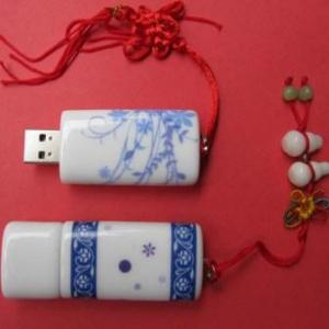 China ceramic usb flash drive.USB flash key , promotional usb on sale