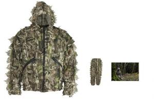 China Lightweight 3D Sneaky Set, Camouflange Net Suit Wood Green 3D Poncho For Adult on sale