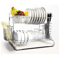 Countertop Kitchen Wire Baskets Fork Chopsticks Storage With A Vegetable Plate