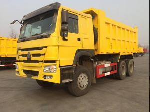 China 21 - 30 Ton Crawler Dump Truck Diesel Fuel Type With 351 - 450hp Horsepower on sale