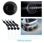 Wireless rearview mirror parking sensors car 4 sensors parking assist system back up sensor distant and alert