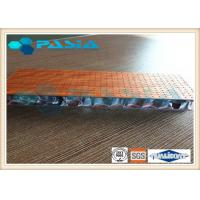 China High Pressure Laminates Aluminum Honeycomb Sandwich Panel For Booth Panel on sale