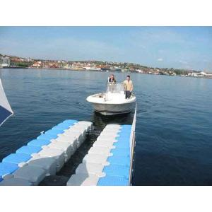 Quality plastic water floating dock for kayak trolley for sale