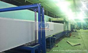 China Automatic Continuous Multiple Hot Sponge Block Making Machine Line for Mattress on sale