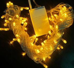 China New arrival 100v yellow connectable flashing string lights 10m on sale