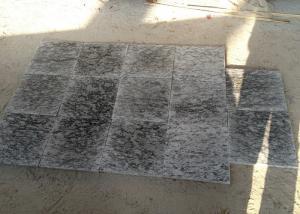China White Granite Slate Slabs For Steps , 2 - 3g / Cm3 Density Granite Tiles For Stairs on sale