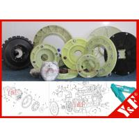 Nylon Flange for SAKAI SV512D Road Roller Engine Drive Hydraulic Pump Motor Coupling for Earthmoving Machinery Parts