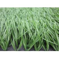 Green Football Artificial Grass For Soccer Court With PE Monofilament Yarn
