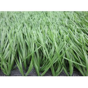 China Green Football Artificial Grass For Soccer Court With PE Monofilament Yarn on sale