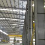 Hot Rolled Class 10 Seismic Steel Structure Workshop