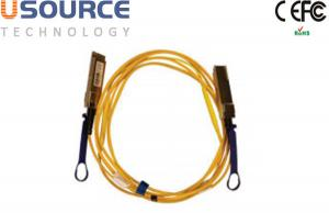 Quality QSFP SFF-8436 Mellanox 56Gb/S QSFP+ Active Optical Cables QSFP+ Interconnect for sale