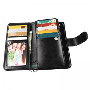 China 9 card slot new style leather case wallet case for iPhone 6 ,OEM and ODM order welcome on sale