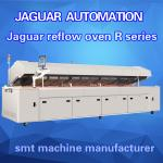 High Precision Top lead-free hot air lead-free reflow oven JAGUAR R8 width 450mm