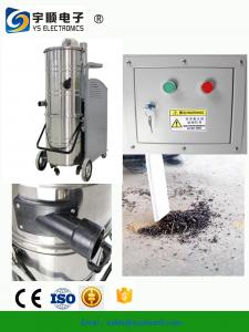 China Residue Free Industrial Wet Dry Vacuum Cleaners,Stainless steel and metal frame vacuum cleaner supplier on sale