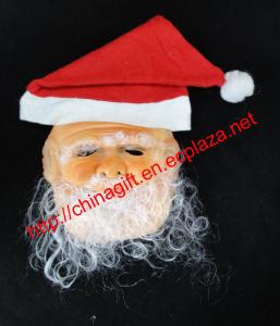 China Santa Claus Decorate Masquerade Mask on sale