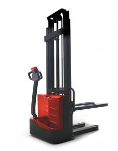 China Mini Warehouse Forklift Trucks , 1 Ton Pedestrian Manual Fork Lift on sale