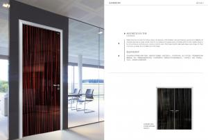 China china melamine faced MDF Customized Commerical Office Design Flush Door on sale