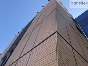 Quality Terracotta Architectural Facade Systems With Eco - Friendly Recyclable Material for sale