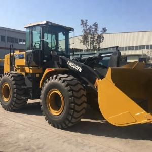 China XCMG LW500FN 5 Ton Hydraulic Front Wheel Loader Max. Breakout Force 170kN on sale