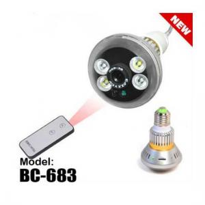 China Digicam CCTV Covert Camera Hidden Camera Lamp Type on sale