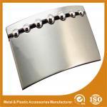 Fivelas de cinto feitas sob encomenda de aço inoxidável da placa pessoal com cor do níquel do dobre