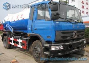 China High Capacity 4 By 2 10M3 10000L Diesel Vacuum Tank Truck 90Km/h on sale