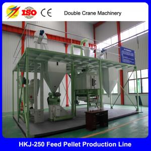 China Pellet feed machine fish food processing equipment fish meal plant for sale on sale