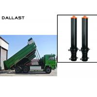 FC FE Single Acting Hydraulic Cylinder Telescopic Stages Heavy Lift Dump Truck