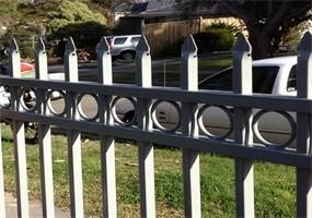China High Safety Powder Coated School Gates Designs Fence 2100mm x 1800mm on sale