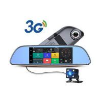 7 inch 1080P Android car security camera  rearview mirror dvr security system recorder