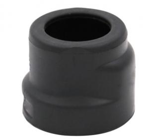 China Automotive Black Silicone Rubber Parts Customer Size Easy Installation on sale