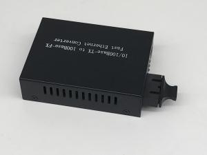 Quality One Rj45 Port 10 / 100M Fiber Ethernet Media Converter , Multimode Media for sale