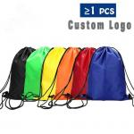 Polyester Drawstring Backpack Backpack Pocket for Camping Hiking Traveling