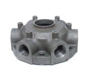China Custom Iron or Carbon Steel Castings Engine Block Head  Zinc Plating , Powder Coating on sale