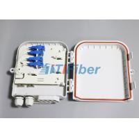 SC 8 Port Waterproof Fiber Optic Distribution Box for FTTH Networks