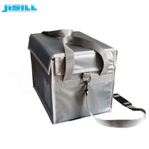 China Keep 2-8 Degrees 72 Hours Vacuum Insulated Material Cooler Box For Medical Transport on sale