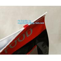 recyclable different type dog/cat food packaging slider zipper bag direct manufacturer in china, flat bottom aluminum fo