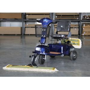 China OEM / ODM Wireless Floor Mopping Machine Dust Cart Scooter 900MM Cleaning Width on sale