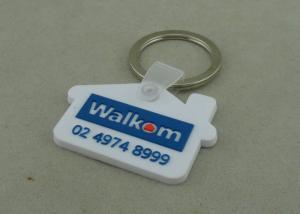 China Medal Customizable PVC Keychain Printing Custom PVC Keyrings on sale