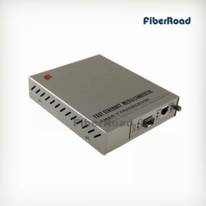 China 10/100Base-TX to SFP Managed Media Converter Remote Standalone for 16 Slots Rack on sale