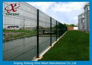 China Powders Sprayed Coating Wire Mesh Fence High Anti Corrosion RAL Colors on sale