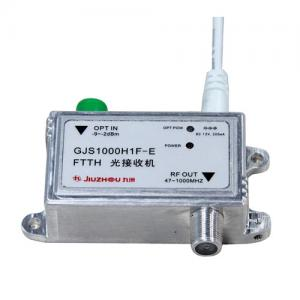 China GJS1000H1F-E Mini Optical Receiver , Indoor FTTH Optical Receiver Easy Install on sale
