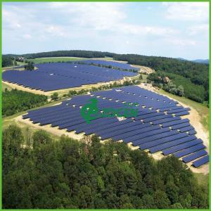 China 50MW On Grid Large Scale Photovoltaic Power Plants With Aluminum Bracket on sale